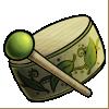 Thumbnail popup wooden drum
