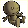 Thumbnail popup wooden doll