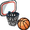 Thumbnail popup basketball and hoop