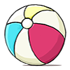 Thumbnail popup beach ball