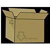 Thumbnail popup cardboard box