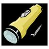 Thumbnail popup flashlight