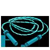 Thumbnail popup jump rope
