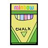 Thumbnail popup rainbow chalk