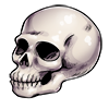 Thumbnail popup monologue skull