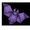 Thumbnail popup origami bat