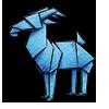 Thumbnail popup origami goat